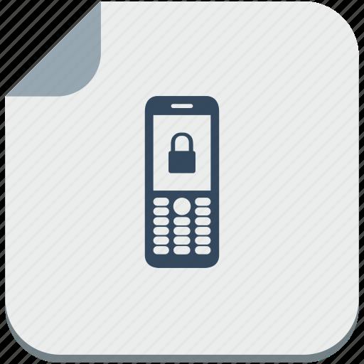 locked, mobile, nokia, phone, pin, soft icon