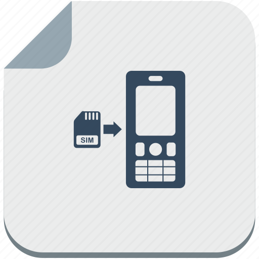 card, into, mobile, nokia, phone, sim, soft icon