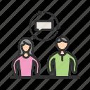 business, career, coaching, mentoring, skills, success, training icon