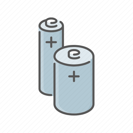 batteries, environment, pollution, toxic, waste icon