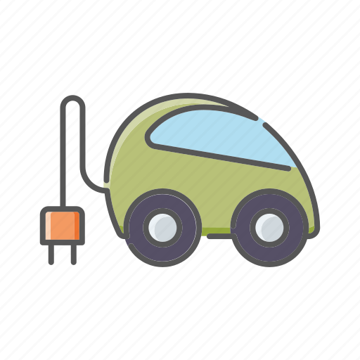 automobile, car, electrical, environment, plug, plug-in, vehicle icon