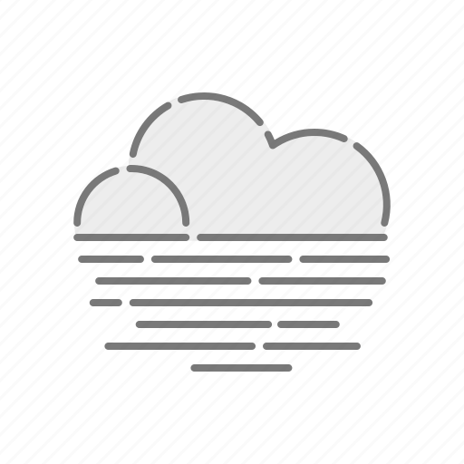 climate, cloud, fog, haze, meteorology, weather icon