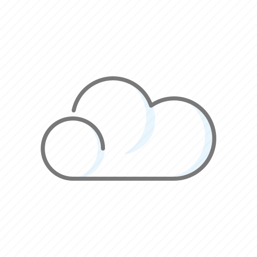 climate, cloud, cloudy, meteorology, weather icon