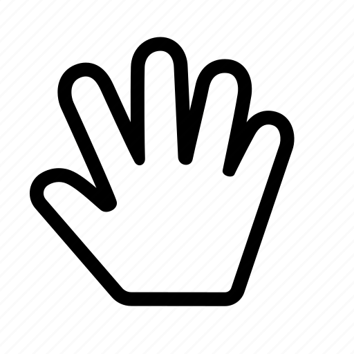 cursor, hand, mouse icon