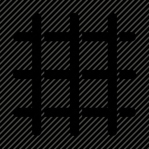 grid, lines icon