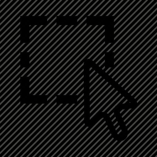 arrow, cursor, selection icon