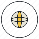 material, sphere icon