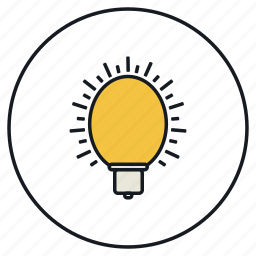 bulb, concept, creativity, idea, imagination, light, lightbulb icon