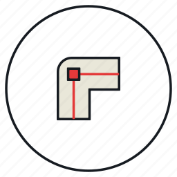 corner, join, path, round icon