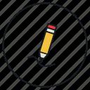 edit, pen, pencil, tool
