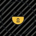 lock, padlock, safe, security