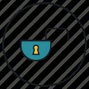 lock, security, unlock, unsecure