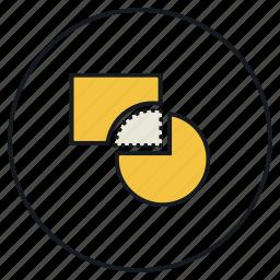 cut, shape, trim icon