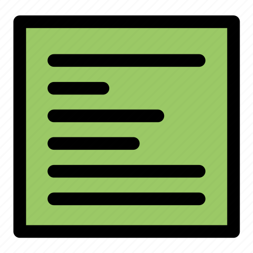 align, align left, edit text, justify text, paragraph, text, tool icon