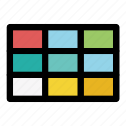 color, color palette, edit color, fill color, palette, swatches, tool icon