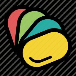 choose, color guide, color palette, palette, patterns, select color, tool icon
