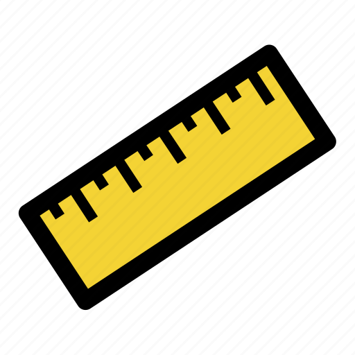 geometric, mathematics, measure, ruler, scale, scale image, tool icon