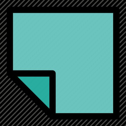 artboard, document, file, note, record, sticker icon