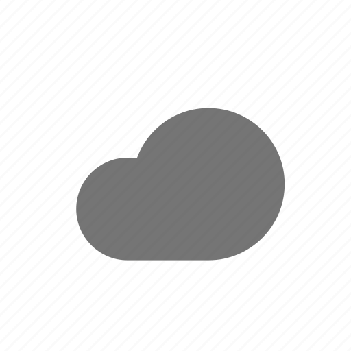 cloud, cloudy, sky, wheather icon