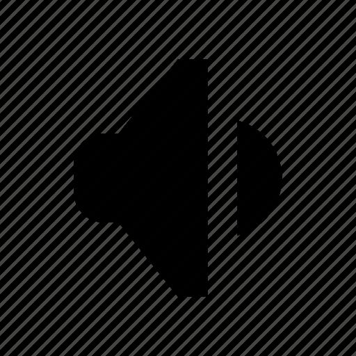 Audio, down, sound, volume, volume down icon - Download on Iconfinder