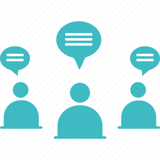 chat, chating, communication, conference, group chat, opinion, sms icon