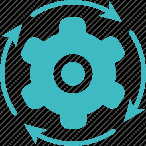 direction, operation, operational, setting, settings icon