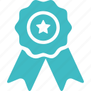 achievement, award, badge, certificate, recomendation, reward, winner icon
