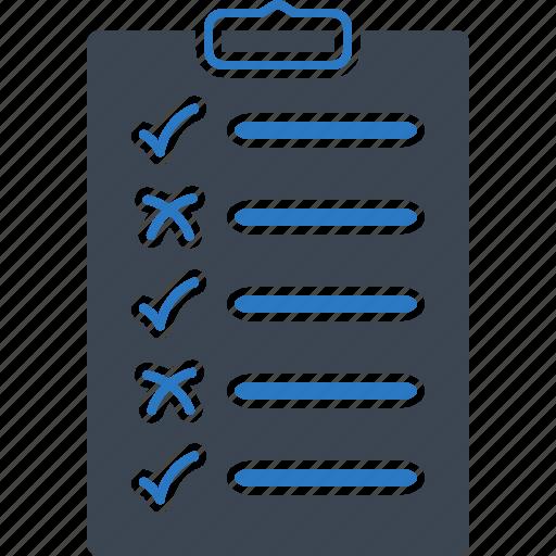 checklist, plan, you icon