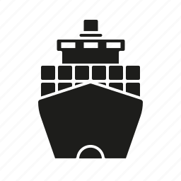cargo, container, industrial, industry, ship, shipping icon