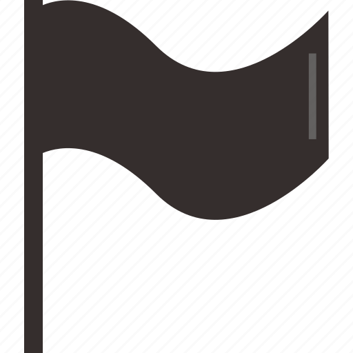 flag, inappropriate, map, marker, navigation, pin icon