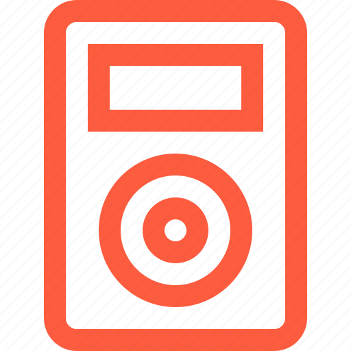 device, gadget, ipod, mp3, multimedia, player, pocket icon
