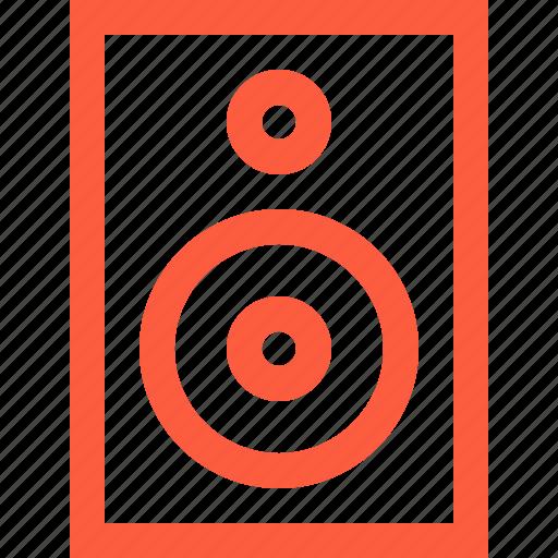 equipment, loudspeaker, monitor, music, sound, speaker, system icon