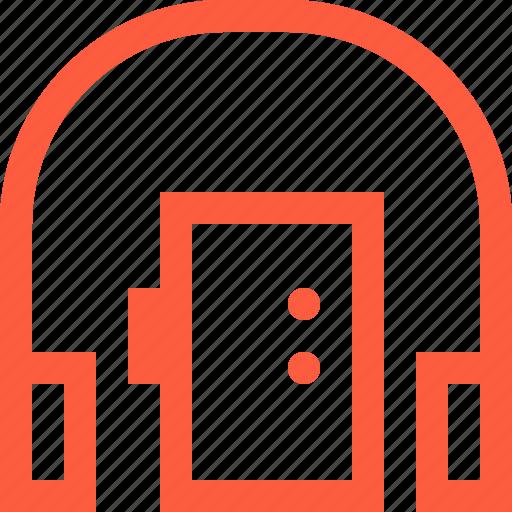 cassette, equipment, headphones, music, player, pocket, retro icon