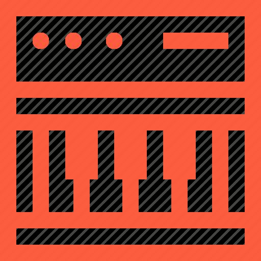 instrument, keyboard, keys, midi, music, synth, synthesizer icon