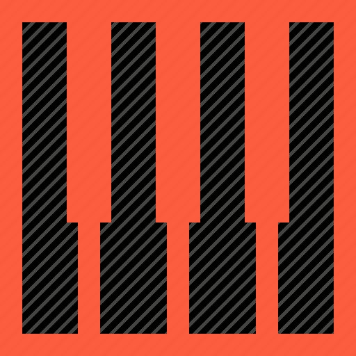 keyboard, keys, midi, music, octave, piano icon