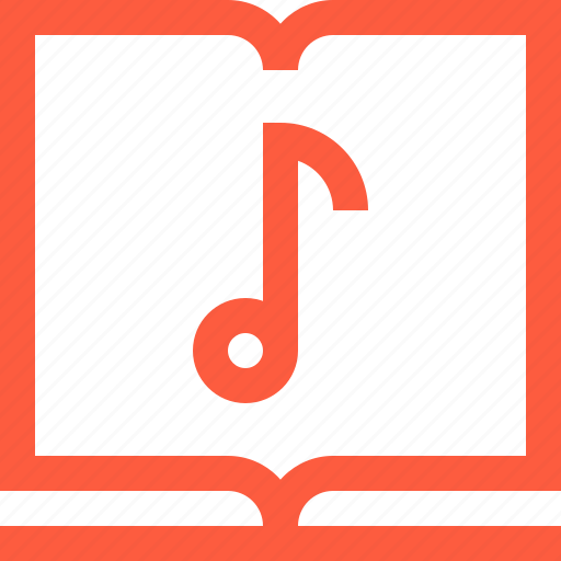 album, book, music, note, notebook, notes, song icon