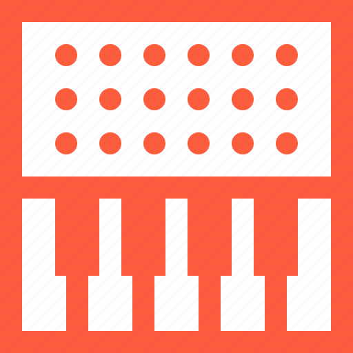 controller, equipment, gear, keyboard, keys, midi, piano icon