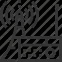 bl, broadcasting, internet, podcast, radio, radios, tower icon