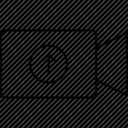 camera, capture, recording, upload icon