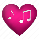 heart, hearts, love, lover, lovers, lovesong, pink, romantic, sing, singer, song, sweet, sweetheart icon