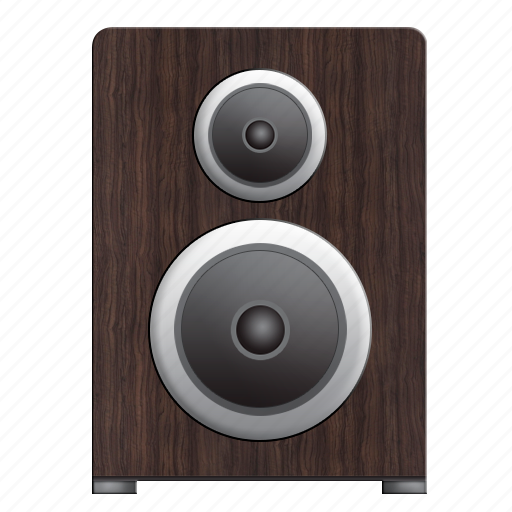 acoustic, acoustics, audio, home, house, media, music, play, program, programm, sound, speaker, speakers, volume, wood icon