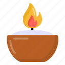 candle, burning candle, candlestick, paraffin, rushlight