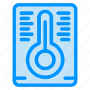 measurement, temperature icon