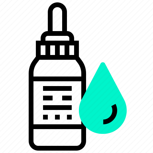 bottle, dropper, spa, water icon