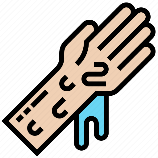 cleaning, gloves, hand, hygiene, washing icon
