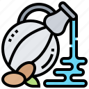 bottle, healthy, oil, olive, salad icon