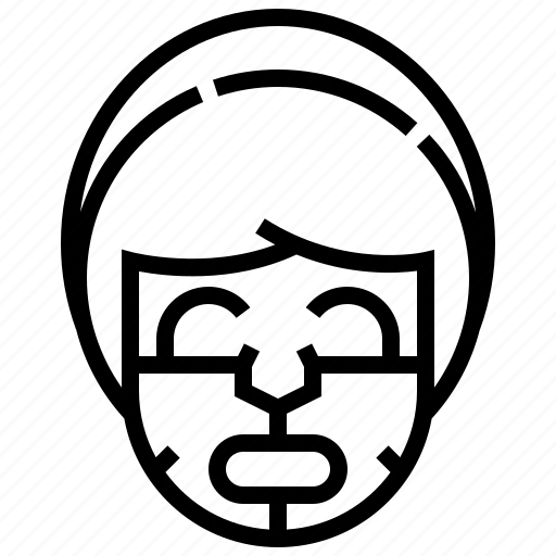 face, mask, spa, treatment icon