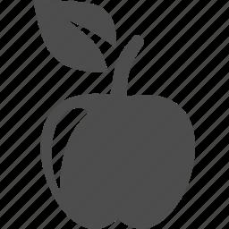 apple, food, fruit, spa icon