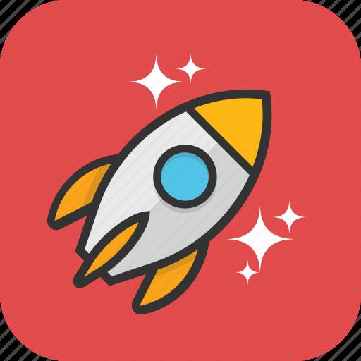 missile, rocket, space, spacecraft, spaceship icon