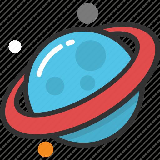 globe, orb, planet, satellite, universe icon